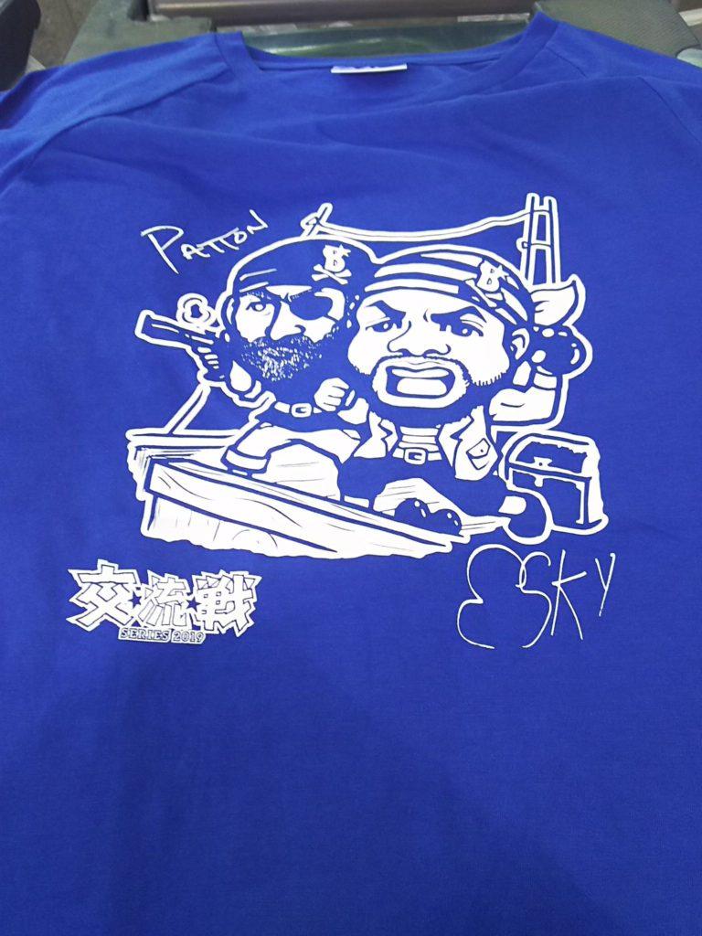 パットンとエスコバーのTシャツ