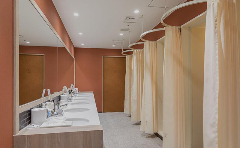 TUBE Sqシャワー室