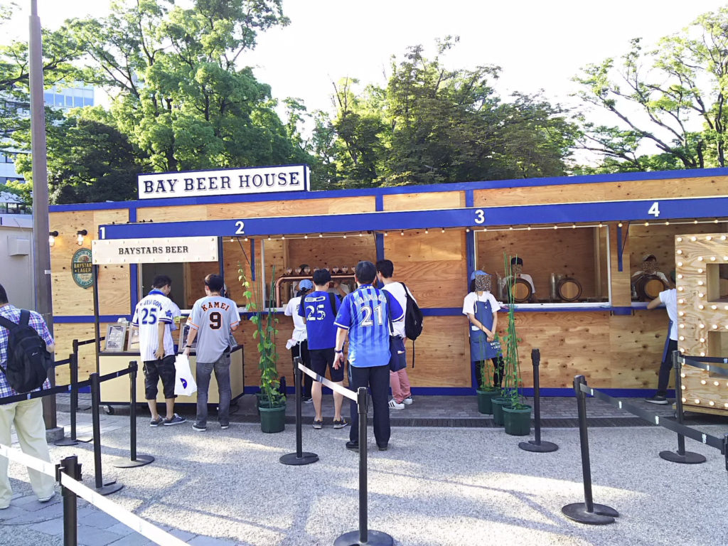 8月29日まで限定オープンのBAY BEER HOUSE