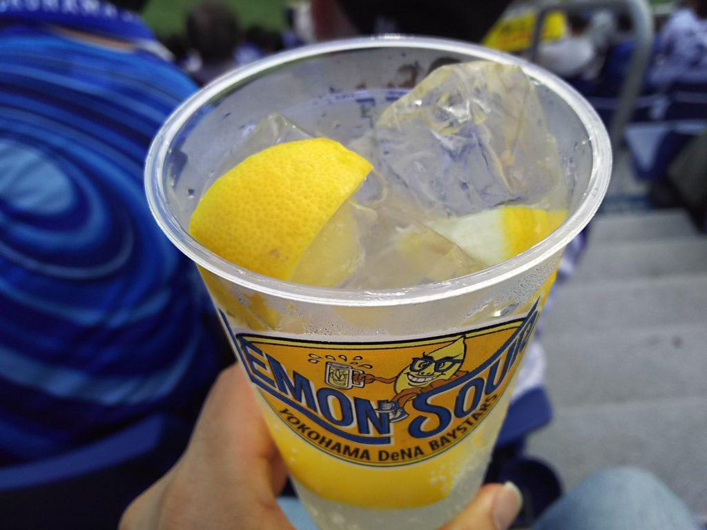 ベイスターズ球団オリジナルレモンサワー