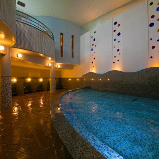 ラグナガーデンホテルの大浴場