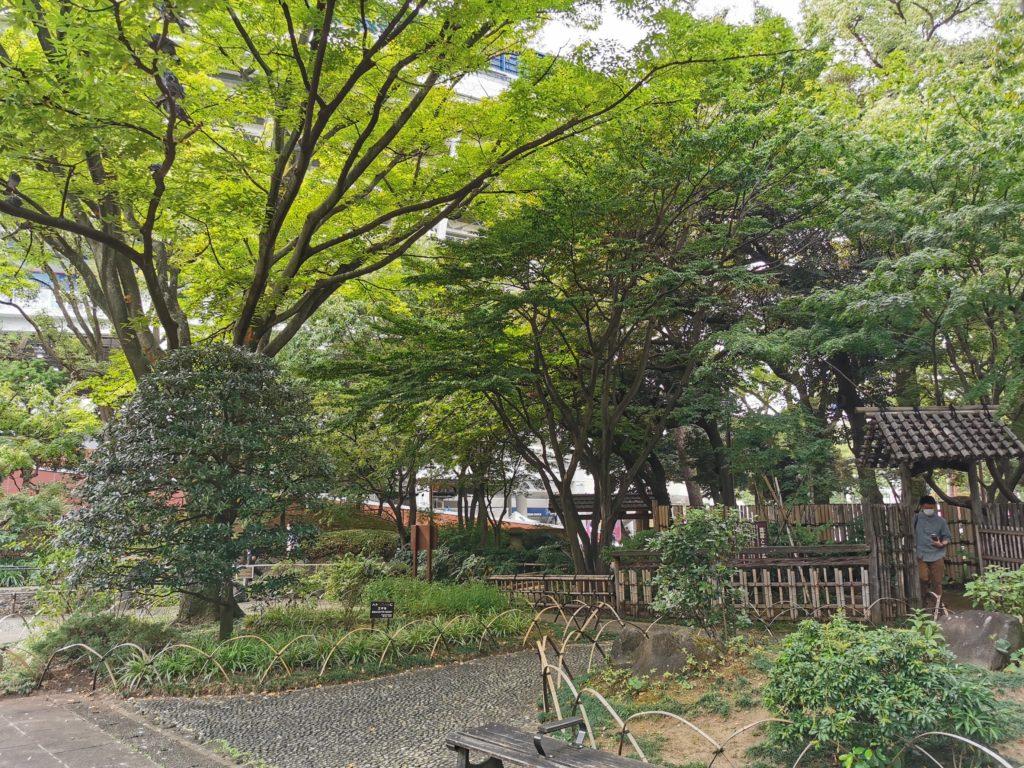 彼我庭園の園内風景1