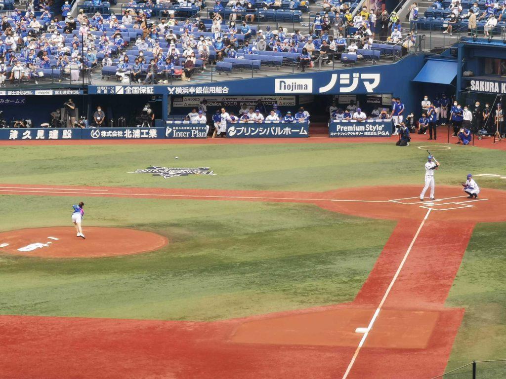 大原櫻子さんの始球式