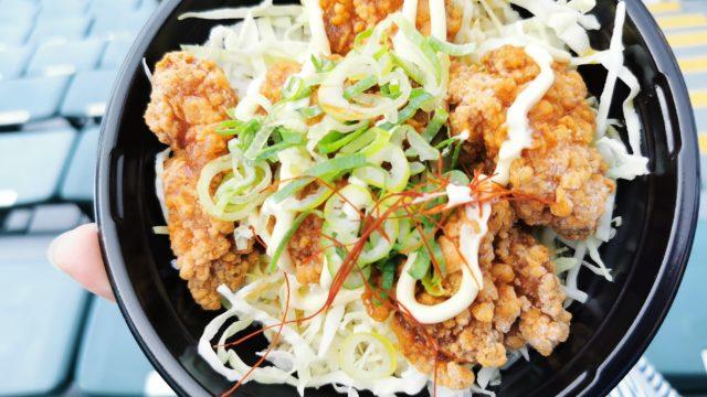 秋山流!塩ダレ鶏マヨ丼(850円)