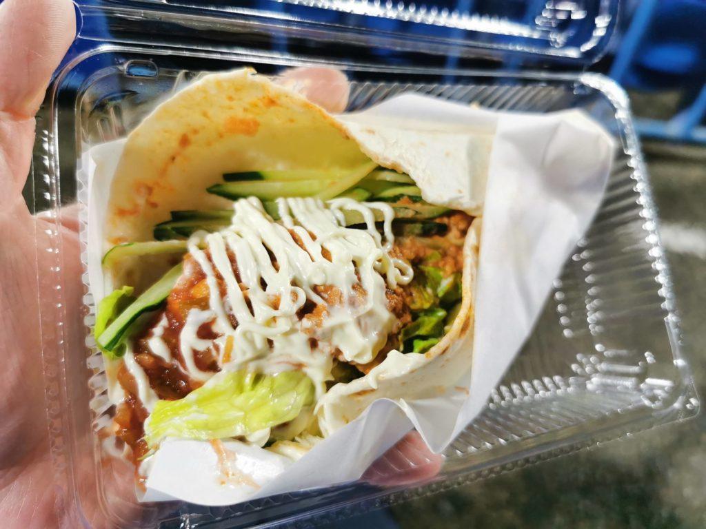 サラダロール タコスミート味(700円)
