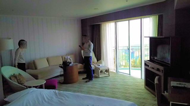 ラグナガーデンホテル。コーナーツイン