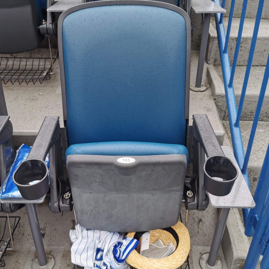 SSトリプルシートの座席
