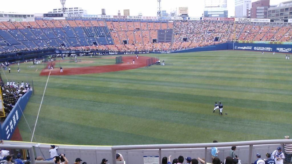 2013年6月23日DeNA対阪神戦のハマスタ1
